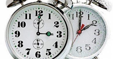 Vraćanje časovnika unazad u noći između subote i nedelje