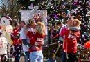 Јубиларни пољупци на Мосту љубави у Врњачкој Бањи