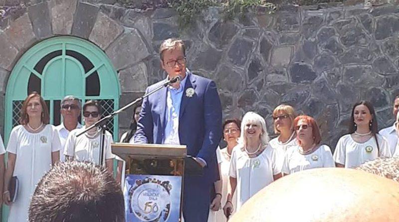 """150 година организованог туризма у Врњачкој Бањи; Постављен камен темељац за изградњу """"Меркур паласа"""""""