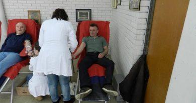 Ванредна акција добровољног давања крви у Пејовцу