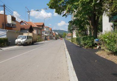 Асфалтирани тротоари у Рајчевићевој улици у Трстенику