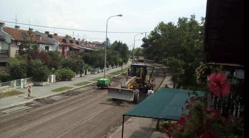 Реконструкција и санација улица и путева у Трстенику